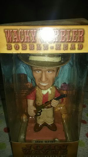 John Wayne Bobblehead in Box for Sale in Tuckerton, NJ