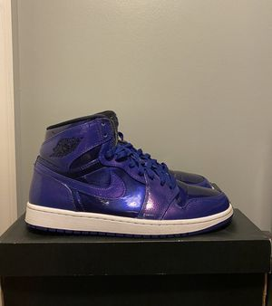 "Jordan 1 ""Deep Royal"" size 10.5 for Sale in Franconia, VA"