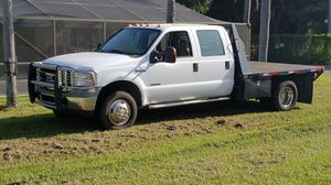 2005 Ford 4x4 F350 diesel power stroke ,goose neck hitch for Sale in Ruskin, FL