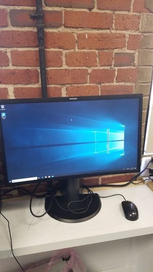 "22"" SAMSUNG CURVE MONITOR for Sale in Lowell, MA"