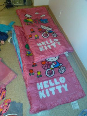 Two Hello Kitty Sleeping Bags for Sale in Chicago, IL