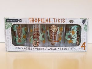 Pub Glass Collectible Tropical Tikis New In Box for Sale in Camas, WA