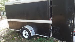 black 12 by 6 trailer for Sale in Riverdale, GA