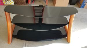 """52"""" Glass TV Stand for Sale in Mount Joy, PA"""