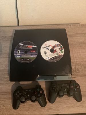 PS3 + controllers + 2 games 100$ for Sale in Stuart, FL