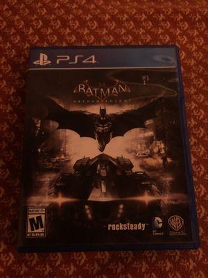Batman Arkham Knight ps4 disc for Sale in Long Beach, CA