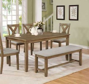 Dining table set. New in boxes. Price is firm RU0EH for Sale in Pomona, CA
