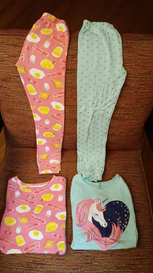 Lot of 4pc Carter's Girl's Pajama set for Sale in Dallas, TX
