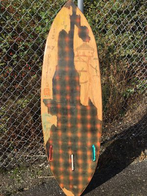 Hollow wooden frame surfboard for Sale in Anacortes, WA