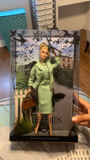 Alfred Hitchcock's The Birds 2008 Barbie for Sale in Garden Grove, CA