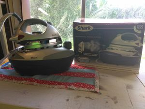 Shark steam generator professional ironing station for Sale in Fayetteville, NC