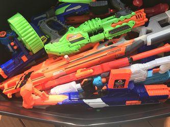 Tub Of Nerf Guns for Sale in Deerfield Beach,  FL
