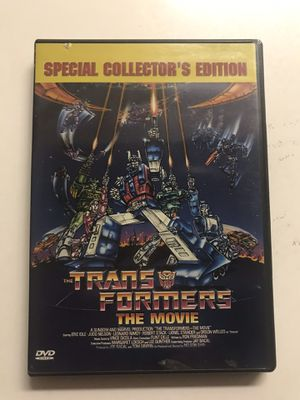 Transformers The Movie DVD for Sale in West Covina, CA