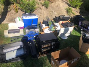 For sale . Electronics , scooter, coolers , printers for Sale in San Diego, CA