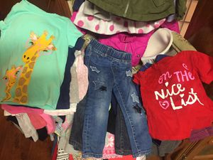 Good condition kids clothes and shoes . Over 120 pieces. for Sale in Los Angeles, CA