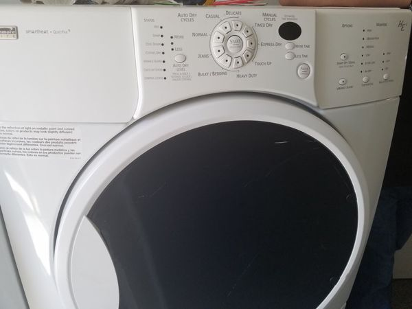 Kenmore Elite He4 Washer And Gas Dryer Set For Sale In