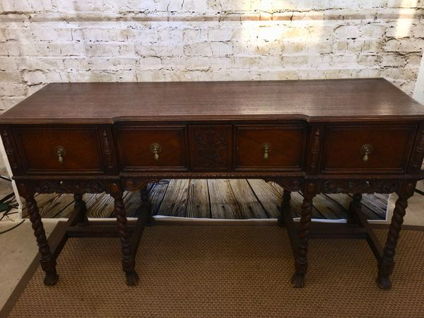 1920's solid wood buffet