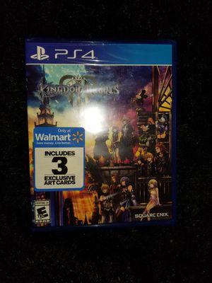 Kingdom hearts 3 PS4 for Sale in Aurora, CO