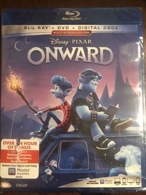 Onward blue ray and dvd set new for Sale in Woodland, CA