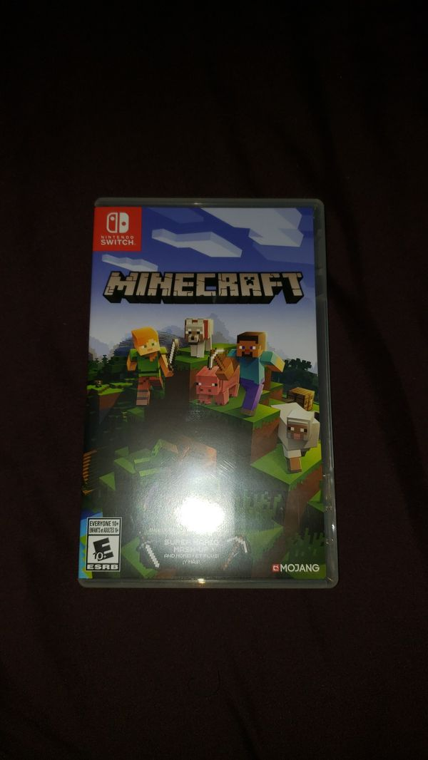 Minecraft for the switch