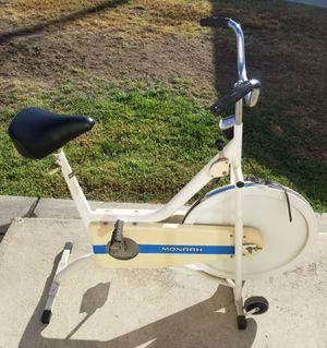 Stationary Bike Bicycle Vintage Monark 667 Multi Speed Indoor Space Saving for Sale in Baldwin Park, CA