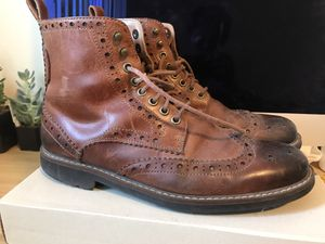 Clark men's boots (montacute lord, size 9) for Sale in Oakland, CA