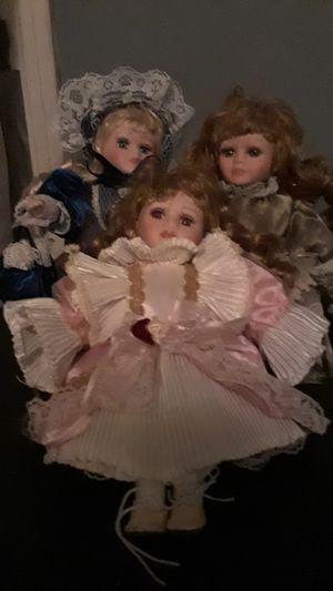 Antique vintage Porcelin Doll Set for Sale in Arlington, TX
