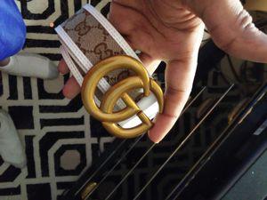2 gucci belts brand new. for Sale in Manassas, VA