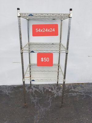 METAL SHELF METRO BRAND for Sale in Houston, TX