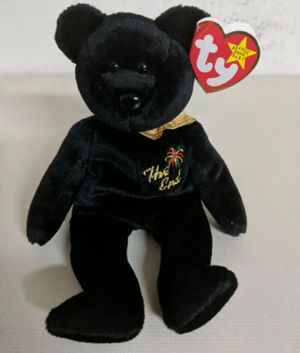 Ty Beanie Baby The End Bear for Sale in Orlando, FL