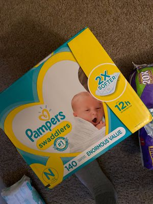 Pampers. NEWBORN SIZE. for Sale in Mayfield Heights, OH