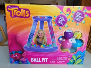 NIB. 26 BALL TROLLS PIT. PICK UP MIDDLEBORO ONLY. for Sale in Middleborough, MA
