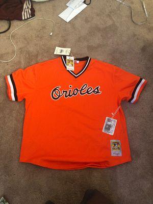 Mitchell & Ness, Cal Ripken Jr. Baseball Jersey for Sale in Landover, MD