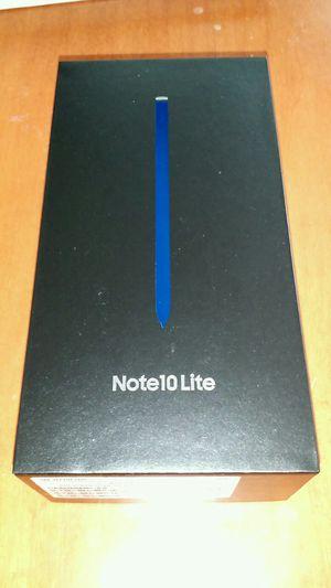 New Samsung Galaxy Note 10 Lite SM-N770F DUAL SIM 128GB FACTORY UNLOCKED. Aura Glow or Black. for Sale in Corona, CA