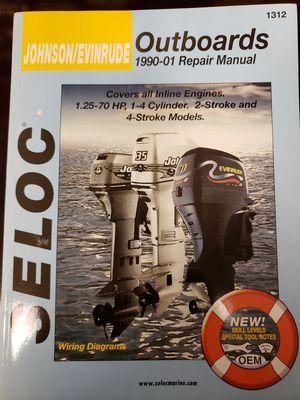 Johnson/Evinrude SELOC outboard manual. 1990-01 for Sale in Saugus, MA