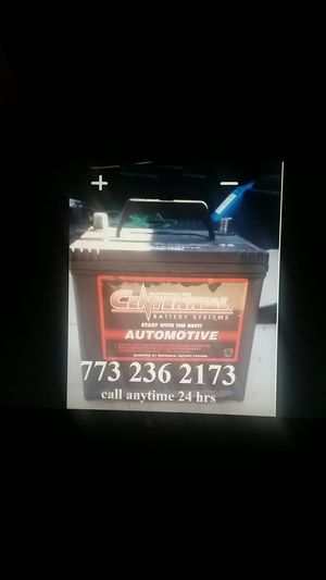 Car Battery $40 free install CALL ONLY NO MESSAGES ON HERE!!! for Sale in Chicago, IL