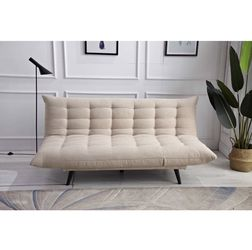 Multifunctional Futon Sofa Bed In Beige Color for Sale in Diamond Bar,  CA