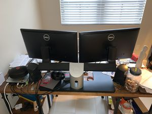 """Dell™ 469-3993 24"""" Desktop Dual Monitor Stand ONLY for Sale in Riviera Beach, FL"""
