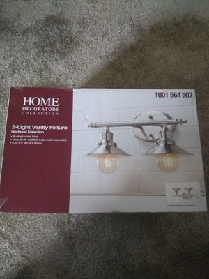 Home decorators collection, 2-light vanity fixture, glenhurst collection for Sale in Norwalk, CA