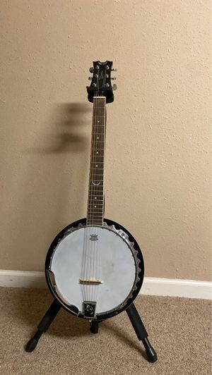 Dean Guitar Banjo with Hard Case for Sale in Creve Coeur, MO