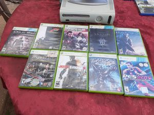 Xbox 360 bundle with all cords no controller included for Sale in Washington, DC