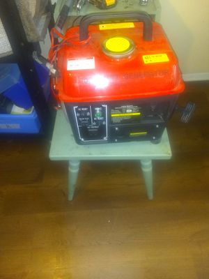 Generator 1000 watts it's a 2.0 czhrs.0725nl 40:1 fuel mixture for Sale in Baltimore, MD