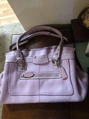 Authentic unique colored Coach handbag barely used for Sale in Aurora, CO