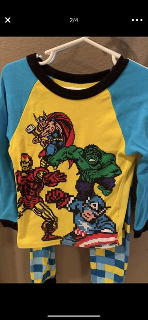 Disney store, marvel jammies, size 6 for Sale in New Port Richey, FL