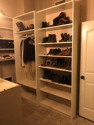 Closet organizer - customizable! Wood -Closet Factory for Sale in Gilbert, AZ