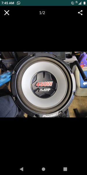 """12"""" pioneer for Sale in Imperial Beach, CA"""