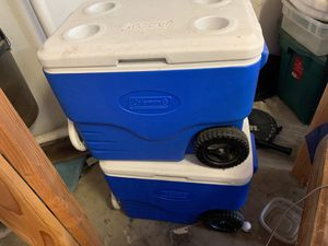 Coleman coolers for Sale in Fresno, CA