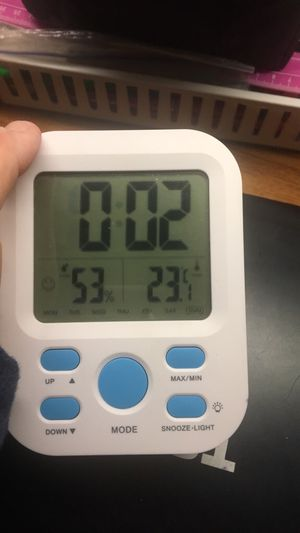 smart weather alarm clock for Sale in Mackinaw, IL