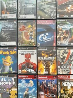 PS2 GAMES for Sale in Lakeland,  FL
