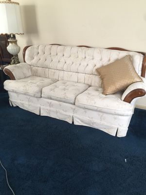 Victorian style sofa , love seat , chair for Sale in Potomac, MD